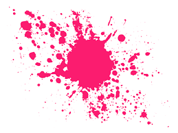 Bright Pink Paint Pink Paint 883 Shell Pink Pink Paint In Water Abstract Isolated