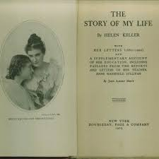 helen keller papers radcliffe institute for advanced study at   1904 title page of the story of my life portrait of helen keller and anne sullivan