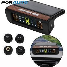<b>Smart Car TPMS Tyre</b> Pressure Monitoring System Solar Power ...