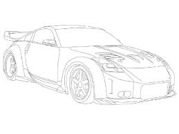 Nissan Gtr Kleurplaat Nissan 350z Coloring Pages 123 Coloring