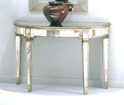 half circle entry table mirrored console table half round console table half circle entry table half
