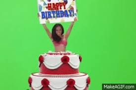 Happy Birthday Girl Jumps Out Of Cake On Make A Gif