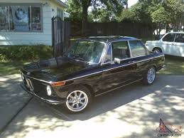 Coupe Series 2002 bmw for sale : BMW 2002 Schwartz Black, electric moonroof, AC, all new restomod