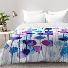 watercolor comforter set. Plain Set On Watercolor Comforter Set Wayfair