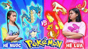Pokemon Hệ Nước Vs Hệ Lửa Đại Chiến - Huấn Luyện Kiểm Soát Pokemon - Phim  Hài L7 Media - YouTube