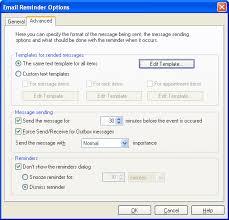 Email Reminder Email Reminder Component