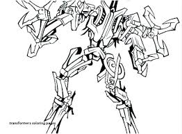 Decepticon Want To Destroy Earth In Transformers Coloring Page Pages