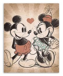 mickey mouse minnie mouse mickey minnie vintage love canvas inside mickey mouse canvas wall on mickey mouse canvas wall art with wall art ideas mickey mouse canvas wall art explore 13 of 15 photos