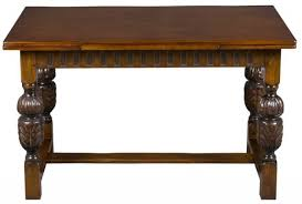 english oak pub table: a sturdy antique pub table from england