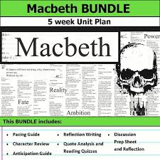 best themes in macbeth ideas themes of macbeth  macbeth unit 5 weeks of lesson plans includes pacing guide film essay activities reading quizzes and discussions this bundle has everything you need