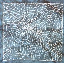 The Free Motion Quilting Project: Day 360 - Blackhole Matrix & free motion quilting | Leah Day Adamdwight.com