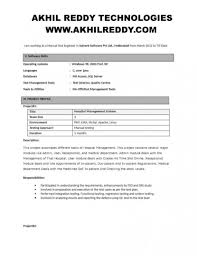 Testing Resume Sample For 2 Years Experience Best Software Testing Resume Example Livecareer For Qa Manual Tester 20