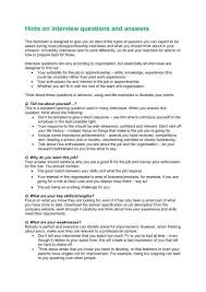 Questions To Ask On Work Experience Hints On Interview Questions And Answers Inspiring The Future