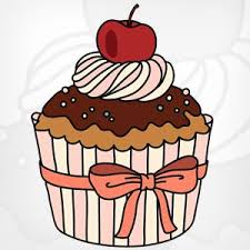 chocolate cupcakes clipart. Perfect Clipart Cupcakes Clipart Chocolate Cupcake Intended Chocolate Cupcakes Clipart