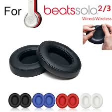 details about replacement ear pads cushion for beats dr dre solo 2 3 wireless wired headphone