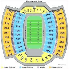 Wvu Stadium Seating Chart Wvu Stadium Seat Mm32 Co