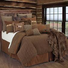 lodge style comforter sets crestwood bedding collection cabin place 1