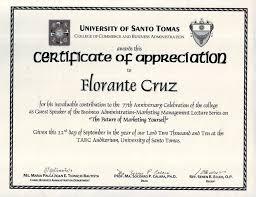 Sample Certificate Of Appreciation Classy Example Of Certificate Of Appreciation For Guest 44 Sample