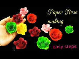 Paper Quilling Rose Flower Basket How To Make Paper Quilling Rose Finest Paper Quill Roses With How