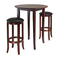 Round Table 122nd Winsome Wood Fiona Round High Pub Table Set The Mine