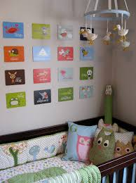 wall hanging ideas for baby room