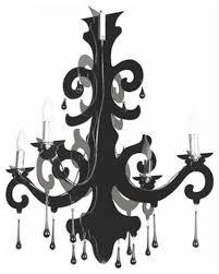 black acrylic chandelier black plastic chandelier provincial lighting ideas