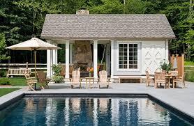 Pool House Designs Plans Home Floor Cabana Design Bathroom Ideas