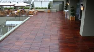 Patio Flooring options are-