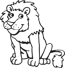 Lion Preschool Coloring Pages Zoo Animals Animal Coloring Pages Of