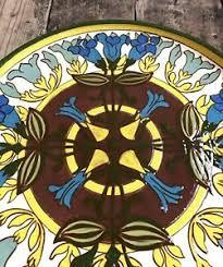 Large Wendy Mason Shrewsbury Studio Pottery Charger (Moorcroft Interest)    eBay