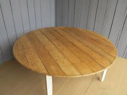 ukaa make reclaimed pine round or circular dining and kitchen tables
