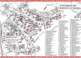 Uh Manoa Campus Map Climatejourney Org