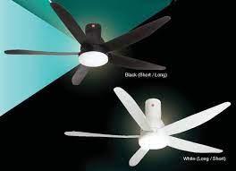 kdk u60fw dc motor ceiling fan with led