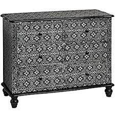 black and silver furniture. black and silver embossed 6 drawer chest of drawers moroccan h8833 full range matching furniture is available black and silver furniture x