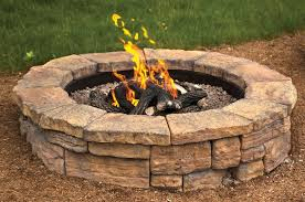 diy fire pit pavestone fire pit outdoor wood fire pit kits