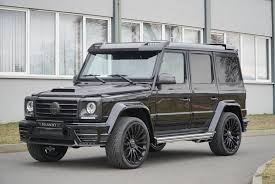 Its passion, perfection and power make every journey feel like a victory. G Class Wide W463 Mansory