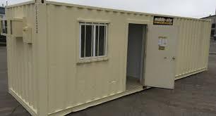 office unit. Large Portable Ground Level Office Unit