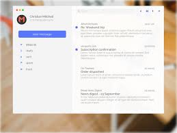 mac email templates minimal mail app for mac sketch freebie download free resource