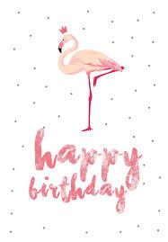 free printable photo birthday cards greetings island free printable cards flamingo birthday free