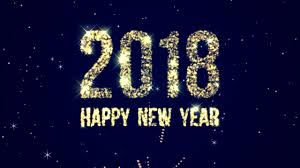 happy new year background. Plain Happy Happy New Year 2018  Motion Background Free HD In