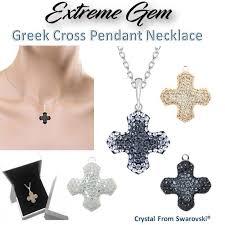 crystals from swarovski pavé greek