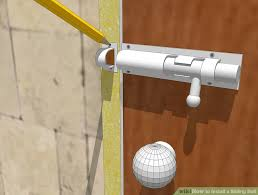 image titled nstall a sliding bolt step 9