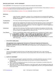 Artist Agreement Contract Agency Artist Contract Template UK Use Only 3