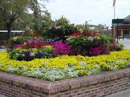 Small Picture Brilliant Flower Garden Layouts Design With Options For Bed Ideas