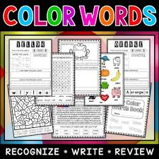 It is cool, but i would have used another words for s and o cause owl doesn't start with an o sound, the same problem with an s for shark. Color Words Worksheets Teachers Pay Teachers