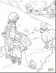 Small Picture Stunning lamb coloring pages for kids with sheep coloring page