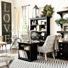 home office decorating ideas pinterest. Delighful Office Original Home Office Desk Return With Open Shelf Cabinet Wood Top On Office Decorating Ideas Pinterest V