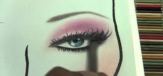 Makeup Artist Eye Charts How To Put Professional Finishing Touches On Face Charts For