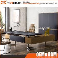 office furniture modern design. Luxury Modern Design L-shape Office Desks Leather Wooden Boss Manager  Executive Counter Table Furniture