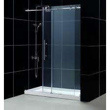 dreamline dl 6621r 07cl enigma x frameless sliding shower door and slimline 32 x 60 inch